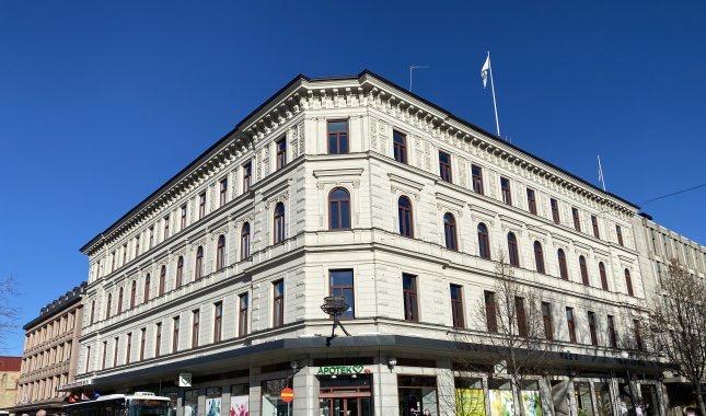 Centralt kontor vid Vängåvan - ca 289 kvm